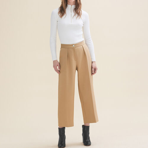 Weite Kostümhose : Pantalons & Jeans farbe Camel