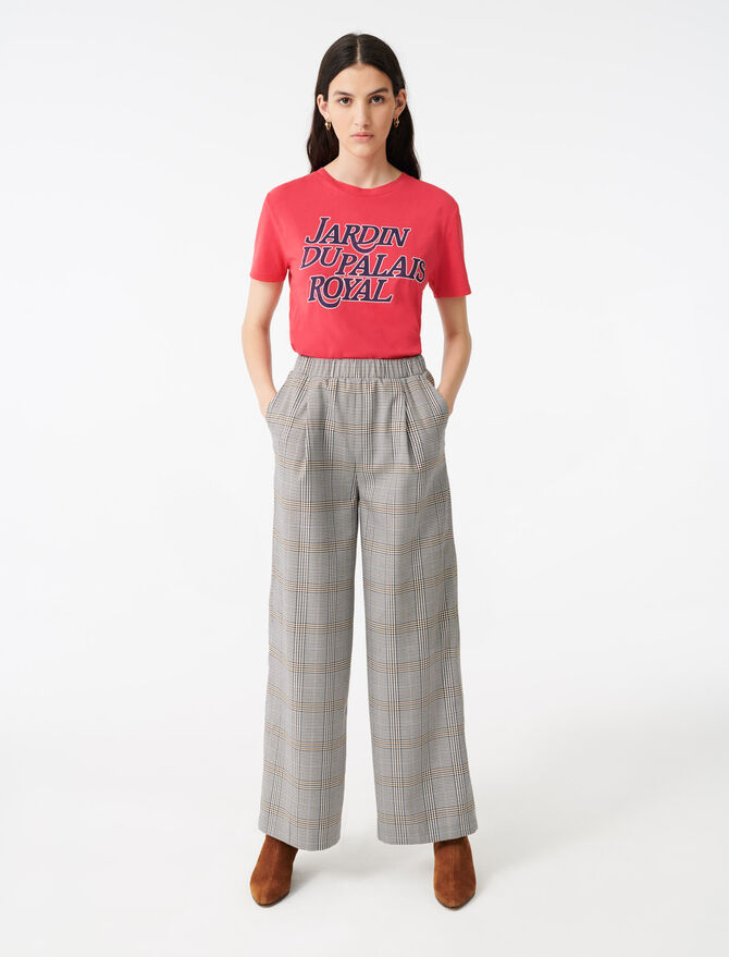 Elastische Karohose - Hosen & Jeans - MAJE