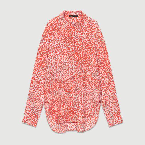 Hemd mit Leoparden-Print : Hemden farbe IMPRIME