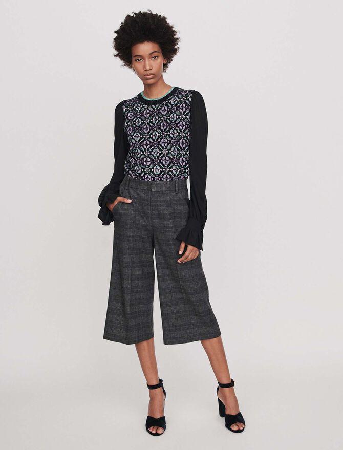 Bermunda Karo Shorts - Hosen & Jeans - MAJE