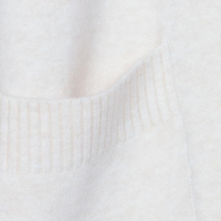 Langer Oversize-Cardigan : Strickwaren farbe ECRU