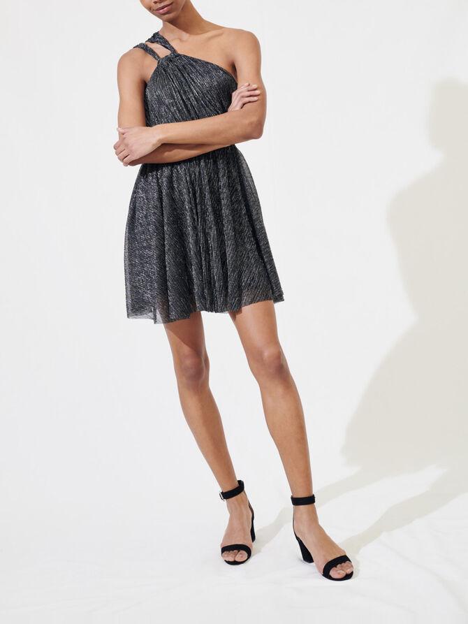 Glitzerndes Trägerkleid - Kleider - MAJE
