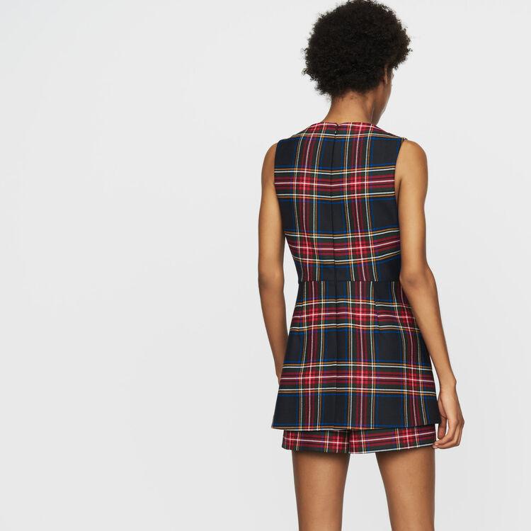 Trompe-l'oeil-Jumpshort mit Karos : Röcke & Shorts farbe CARREAUX