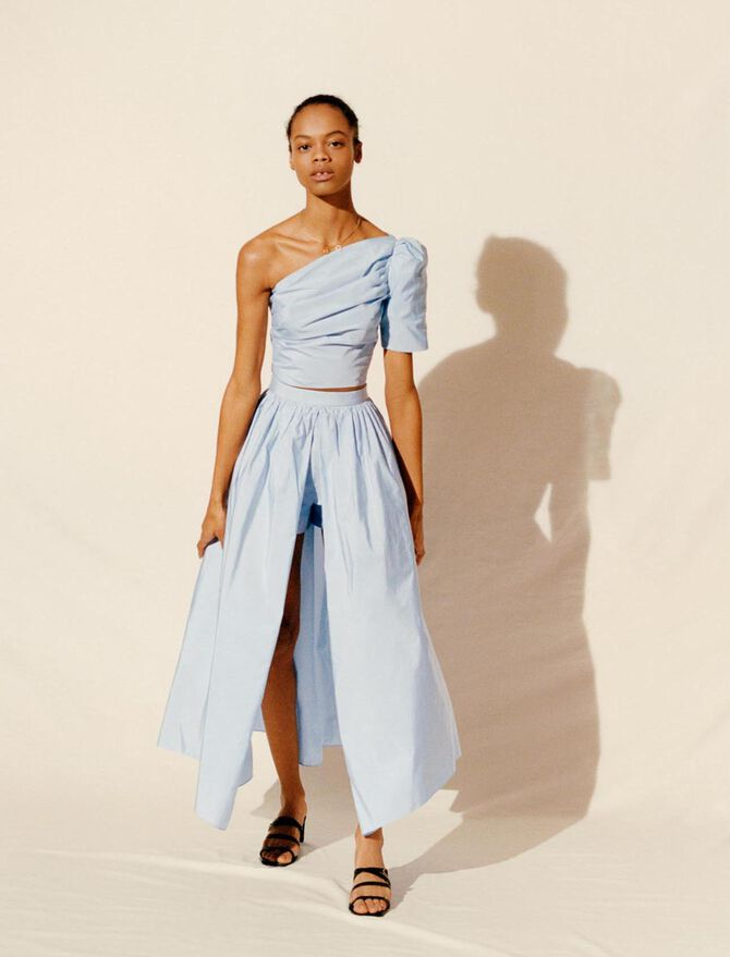 Taft-Hosenrock im Unterrock-Stil - Röcke & Shorts - MAJE