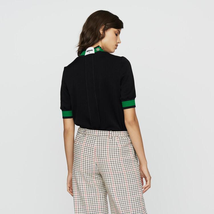 Sportswear-Top : Urban sport farbe Schwarz