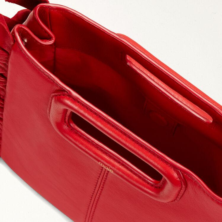 M Tasche mit Rüschen : M Tasche farbe Rot