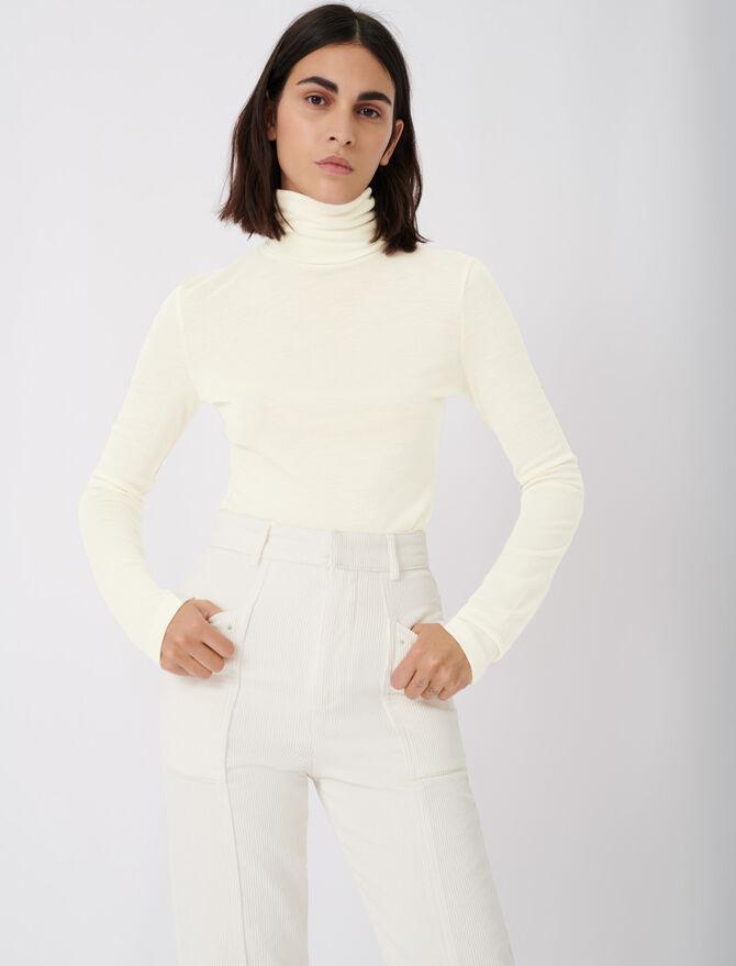 T-Shirt unter Pullover -  - MAJE