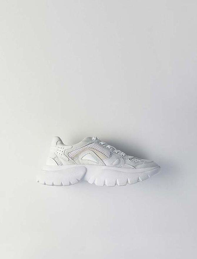 W20 Ledersneaker - Sneakers - MAJE