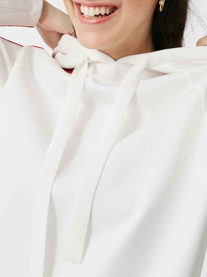 Sweatshirt mit Kapuze - Pullover & Strickjacken - MAJE