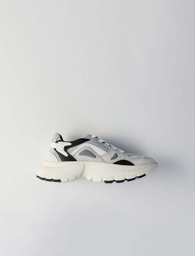 W20 Leder Sneaker - Sneakers - MAJE
