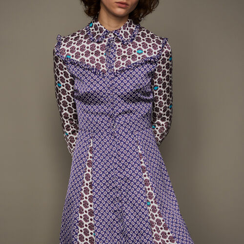 Dress with print : Kleider farbe IMPRIME