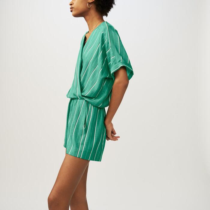 Bedruckte Loose Fit-Hose : Röcke & Shorts farbe Gestreift