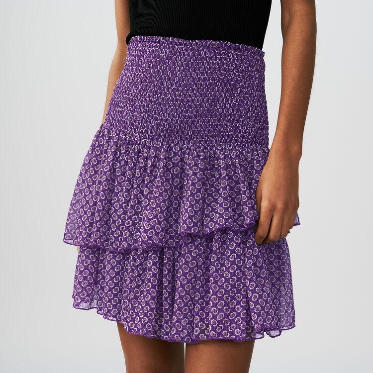Bedruckter Volant-Rock : Röcke & Shorts farbe IMPRIME