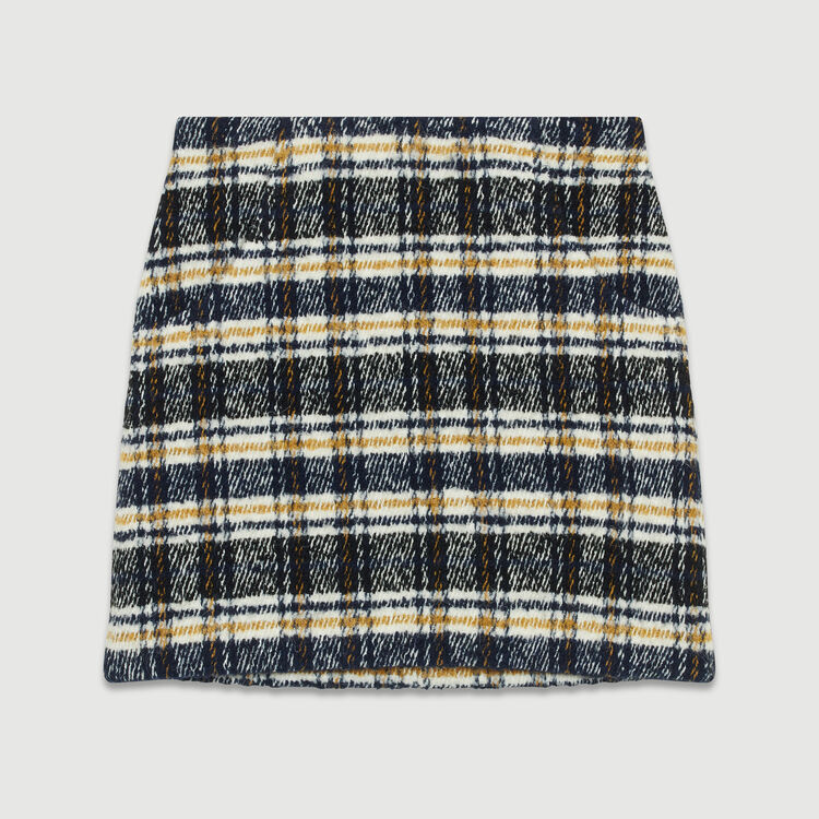 Kurzer Karo-Rock : Röcke & Shorts farbe CARREAUX