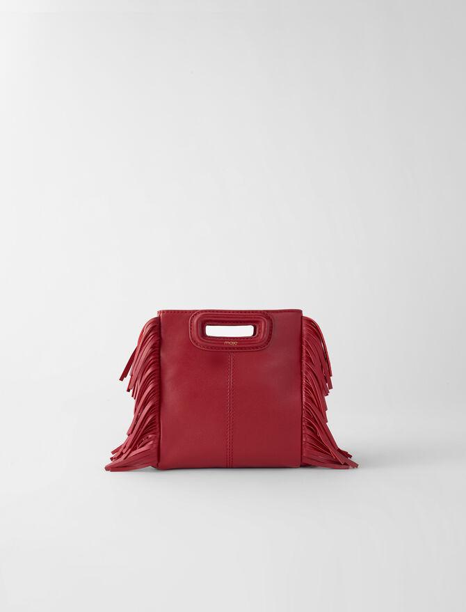 M Mini-Tasche aus Leder mit Kette - Alle Taschen - MAJE