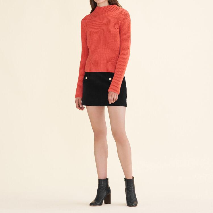 Pullover aus dickem Strick : Pulls & Cardigans farbe Orange