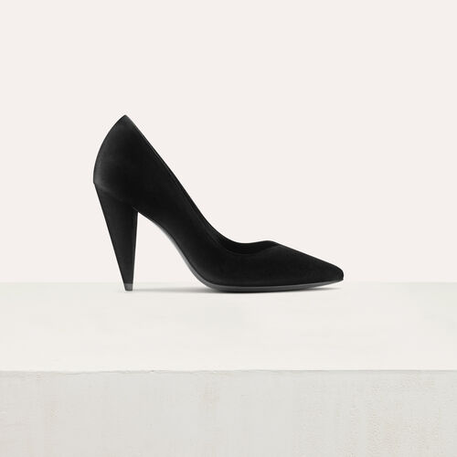 High heals suede shoes : Pumps farbe Schwarz