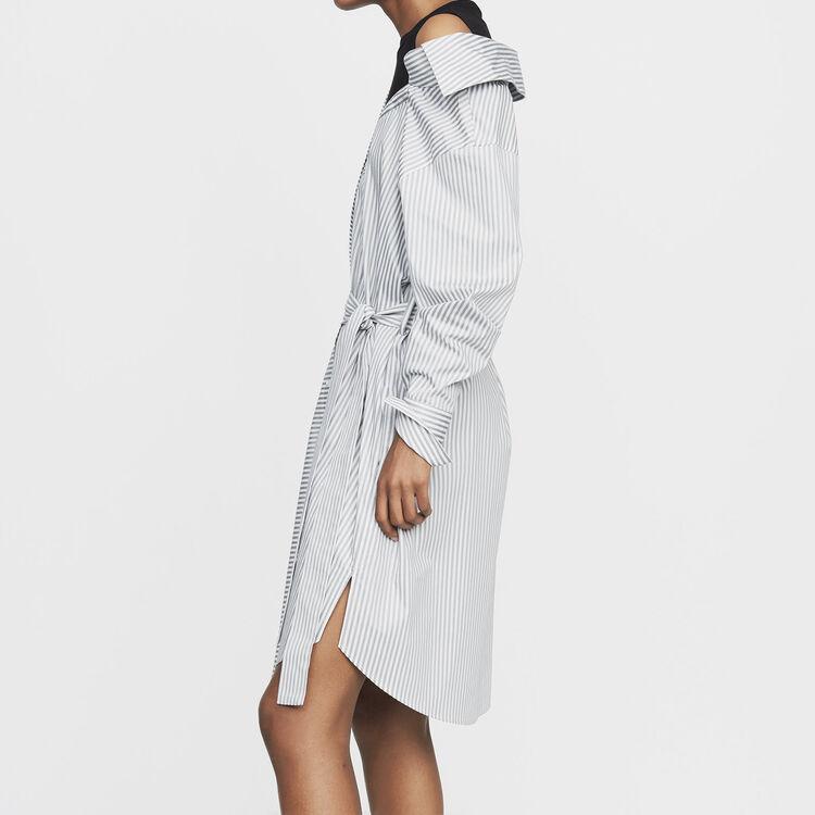 Gestreiftes unstrukturiertes Hemdkleid : See all farbe Gestreift