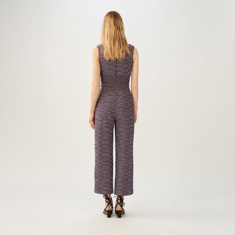 Tweed-Jumpsuit : Jumpsuits farbe Jacquard