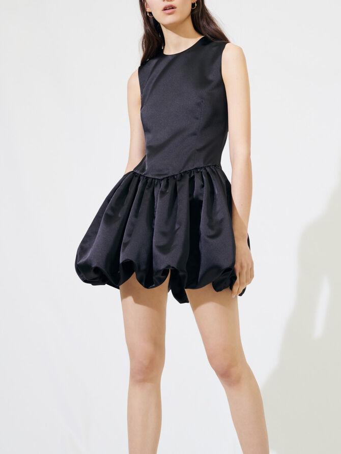 Skaterkleid aus Satin - Kleider - MAJE