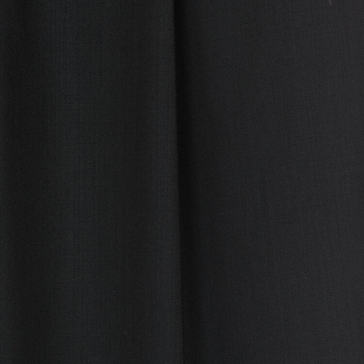 Bundfaltenhose aus Schurwolle : Bekleidung farbe Schwarz