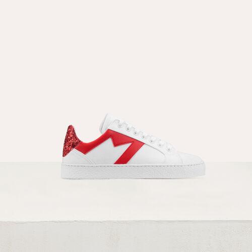 Sneakers mit kontrastierenden : Sneakers farbe Weiss