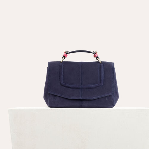 Mini Aktentasche aus Wildleder - LDance Taschen - MAJE