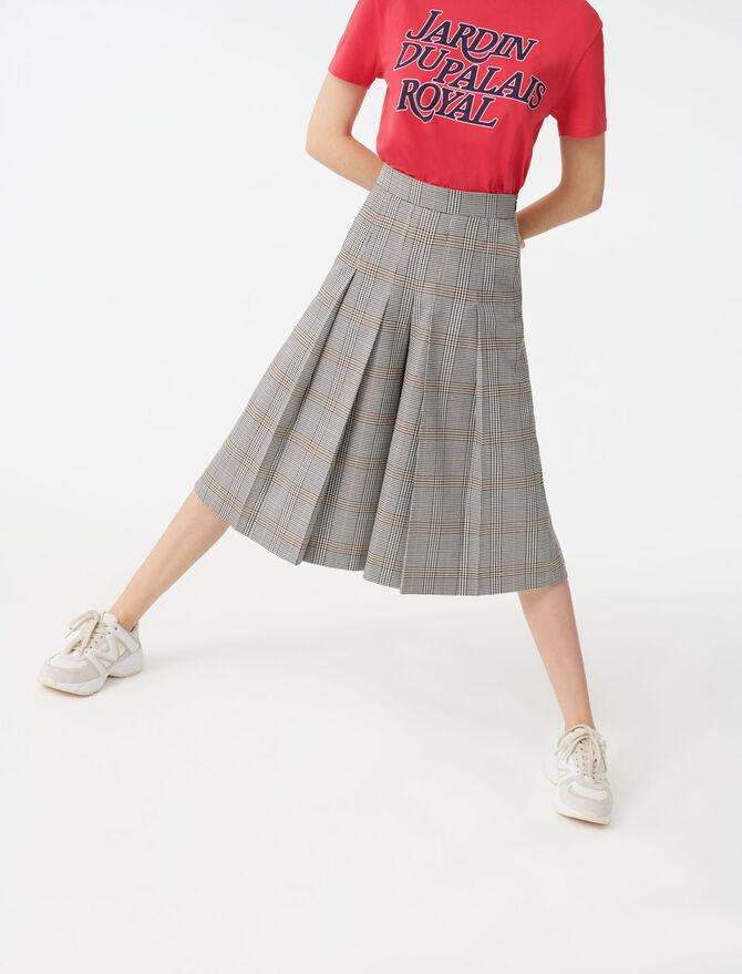 Karohose im Bermuda-Stil - Hosen & Jeans - MAJE