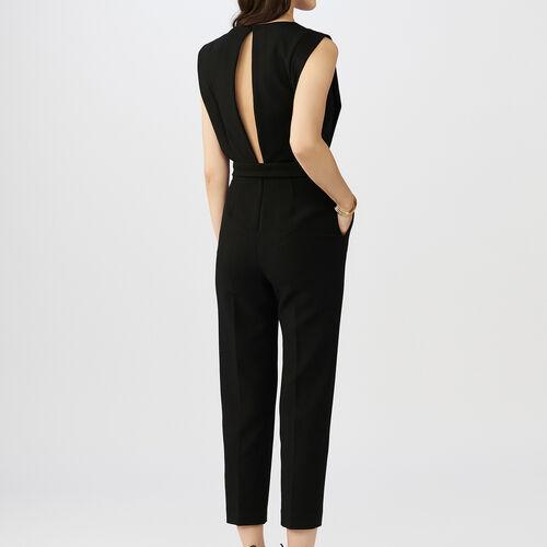 sleeveless Jumpsuit : Hosen farbe Schwarz