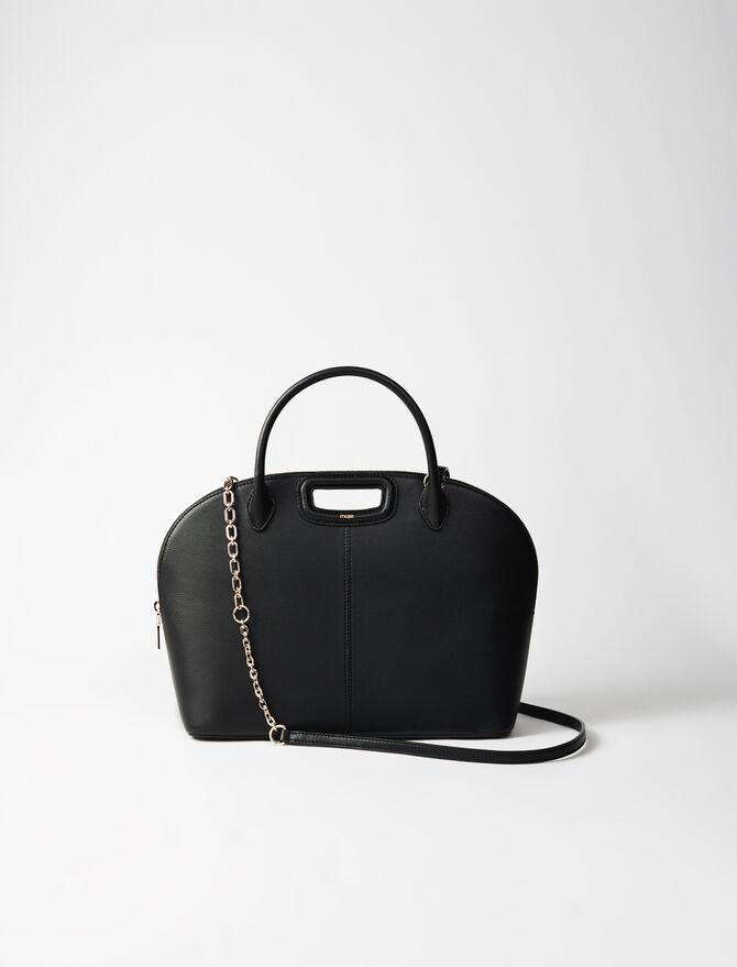 Große Handtasche aus Glattleder -  - MAJE