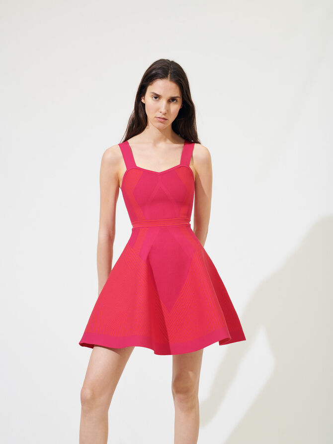 Sportliches Couture-Strickkleid -  - MAJE