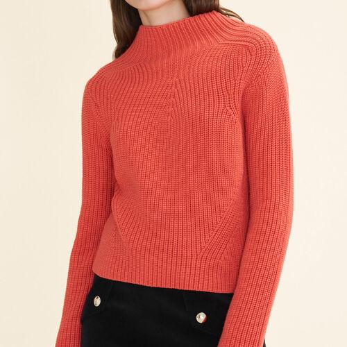 Pullover aus dickem Strick - Strickwaren - MAJE