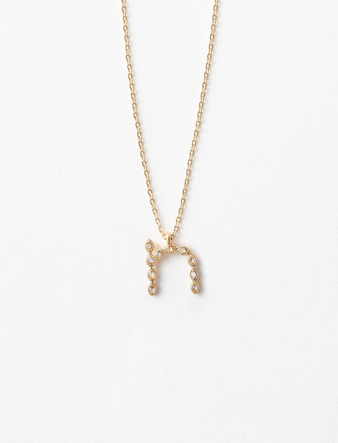 Halskette N mit Strass -  - MAJE