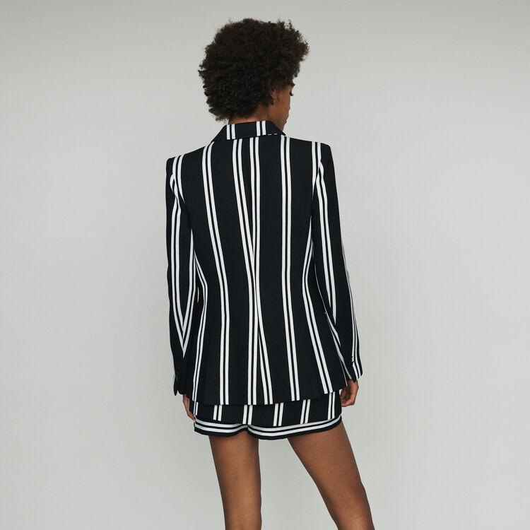 Blazer mit Streifen : Blazers farbe Gestreift