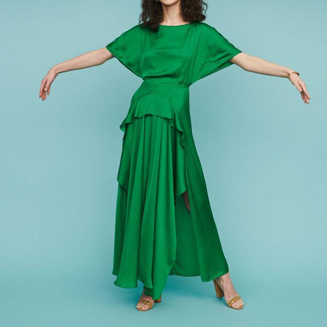 Langes Asymmetrisches Kleid - Alles einsehen - MAJE