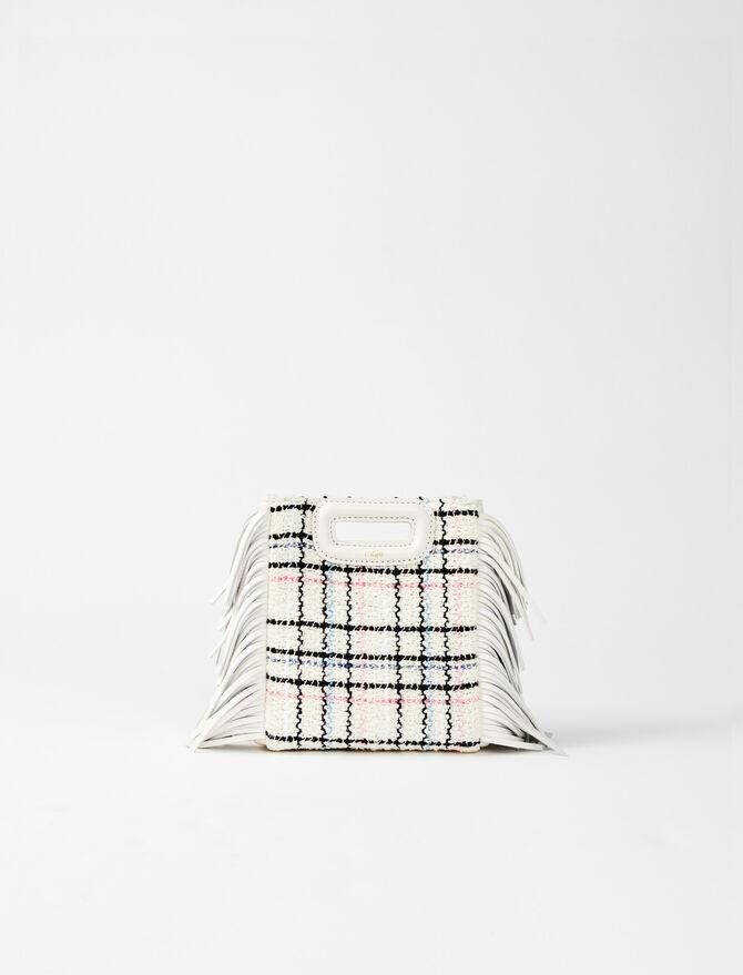 M Mini-Tasche aus Tweed -  - MAJE