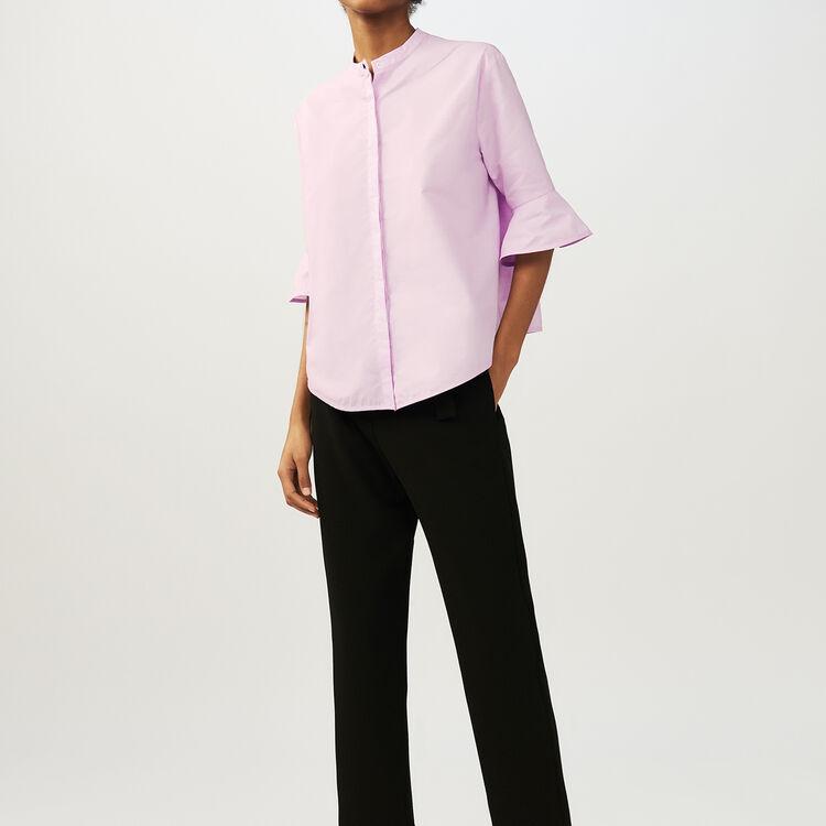 Oversize-Popelinehemd : Hemden farbe Rosa