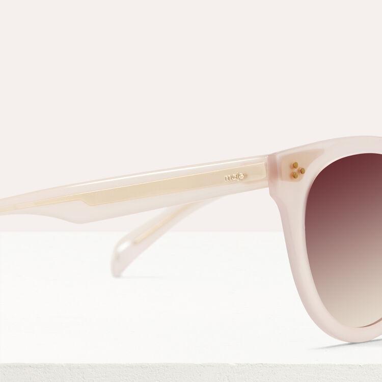 Sonnenbrille aus Acetat : See all farbe Rosa