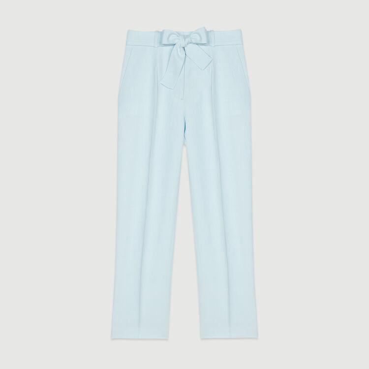 Bundfaltenhose : Hosen & Jeans farbe Himmelblau