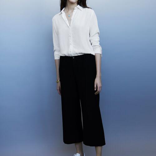Weite Hose : Hosen farbe Schwarz