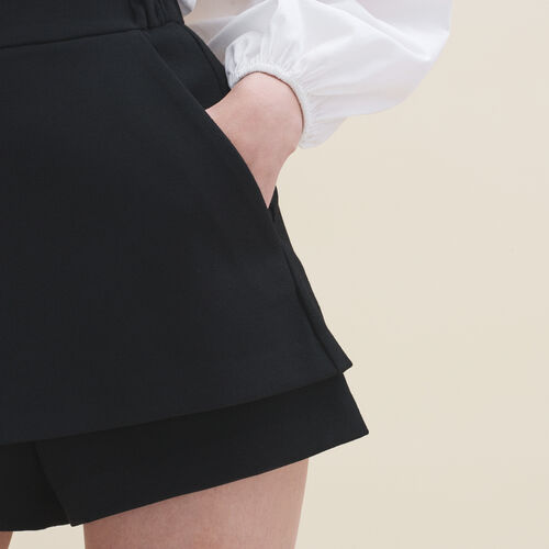 2-in-1 Shorts - Röcke & Shorts - MAJE