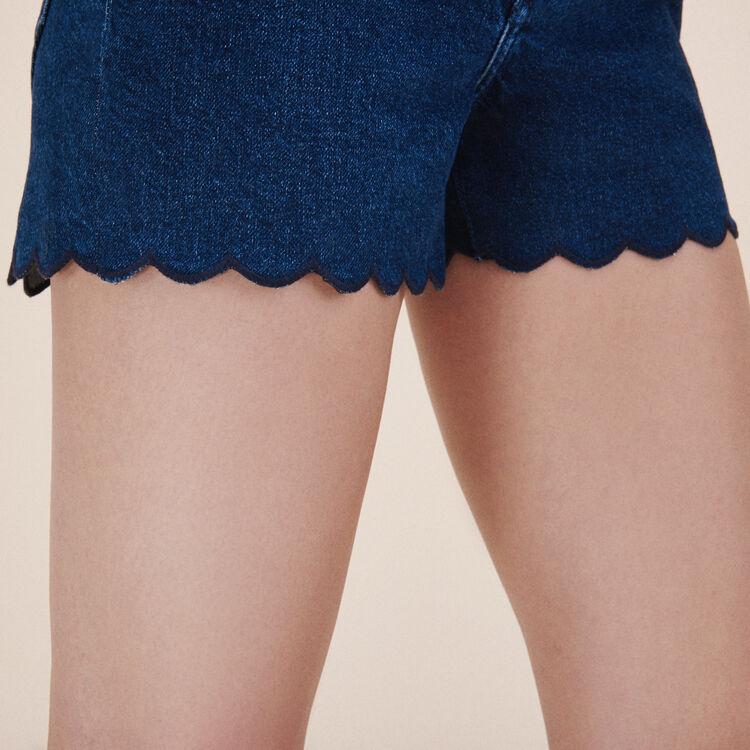 Shorts aus Denim - 20% Rabatt - MAJE