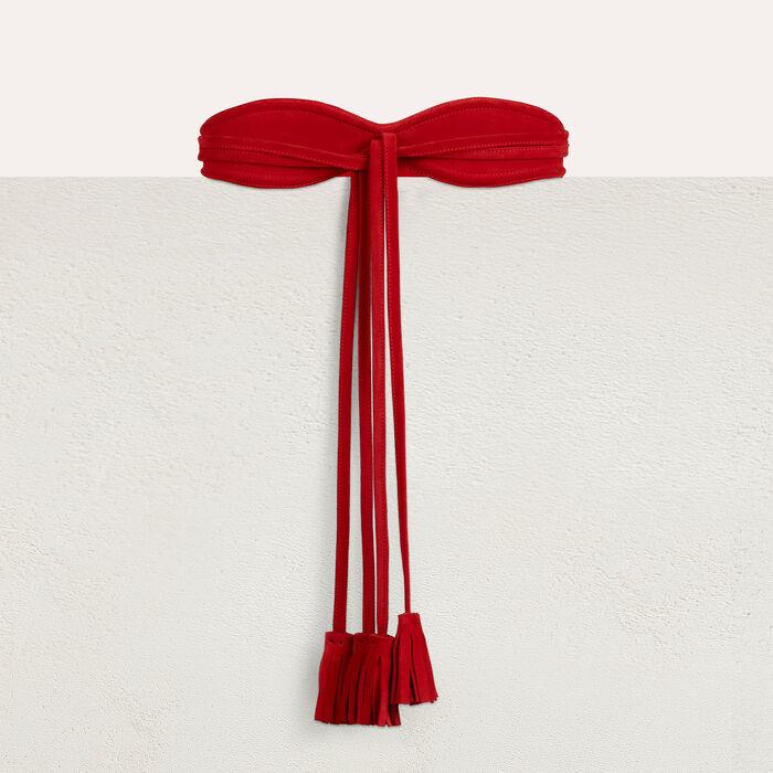 High size belt : Gürtel farbe Rot