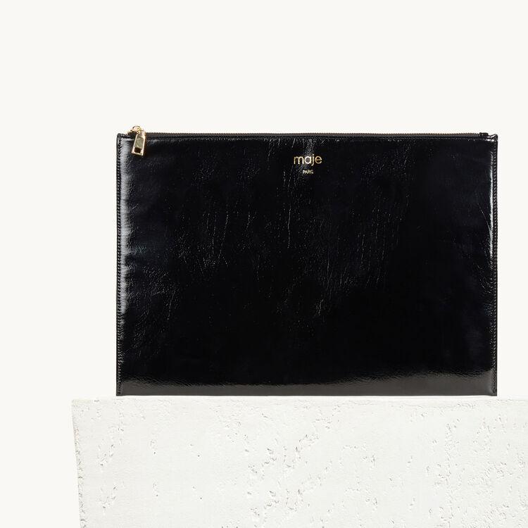 Pochette : Gift with purchase farbe Schwarz