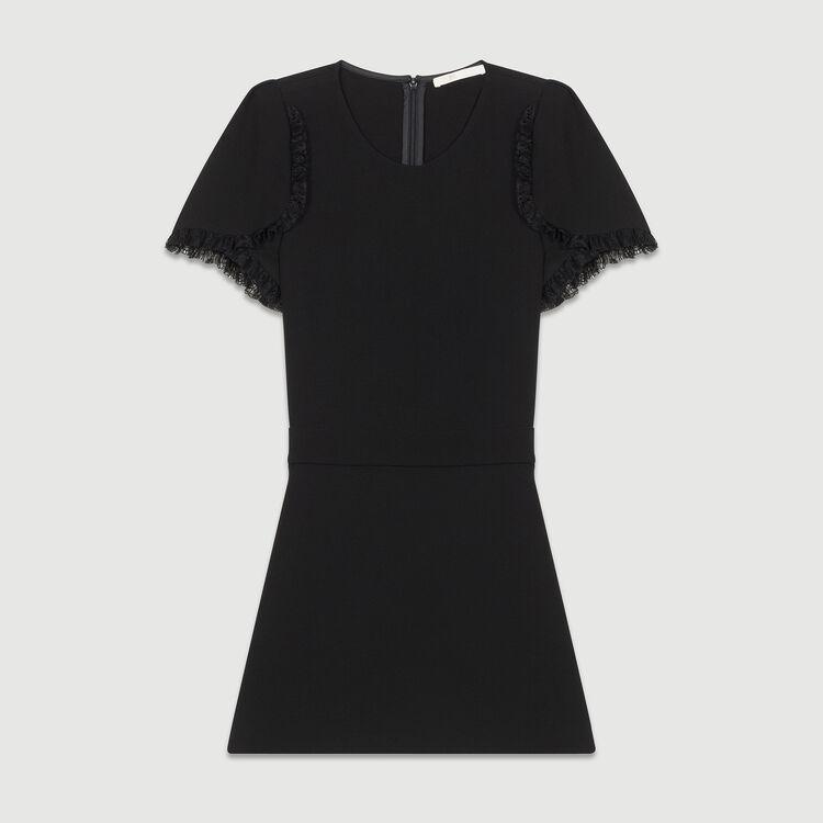 Jacquard Short-Rock : Röcke & Shorts farbe Schwarz