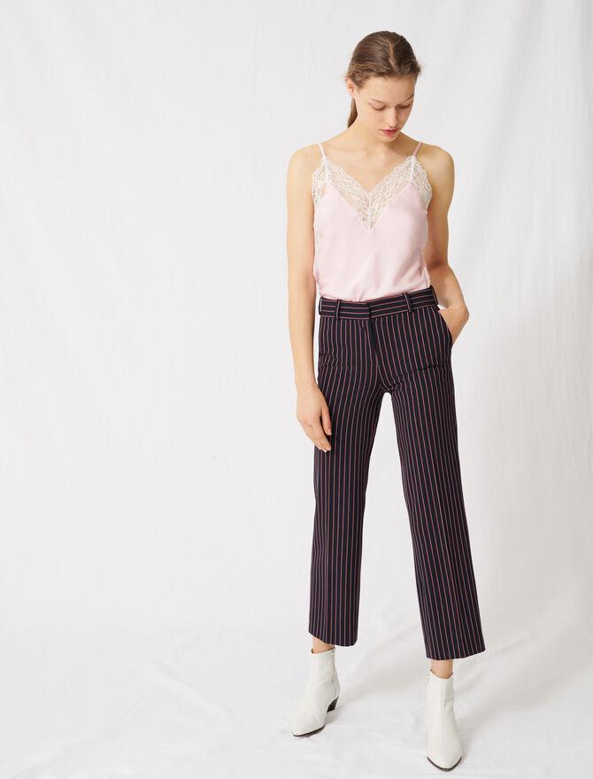 Gestreifte Kostümhose - Hosen & Jeans - MAJE