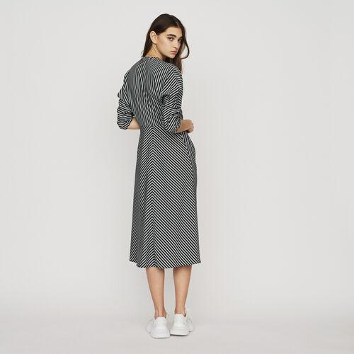 Midi-Kleid mit Streifen : New in : Sommer Kollektion farbe Gestreift