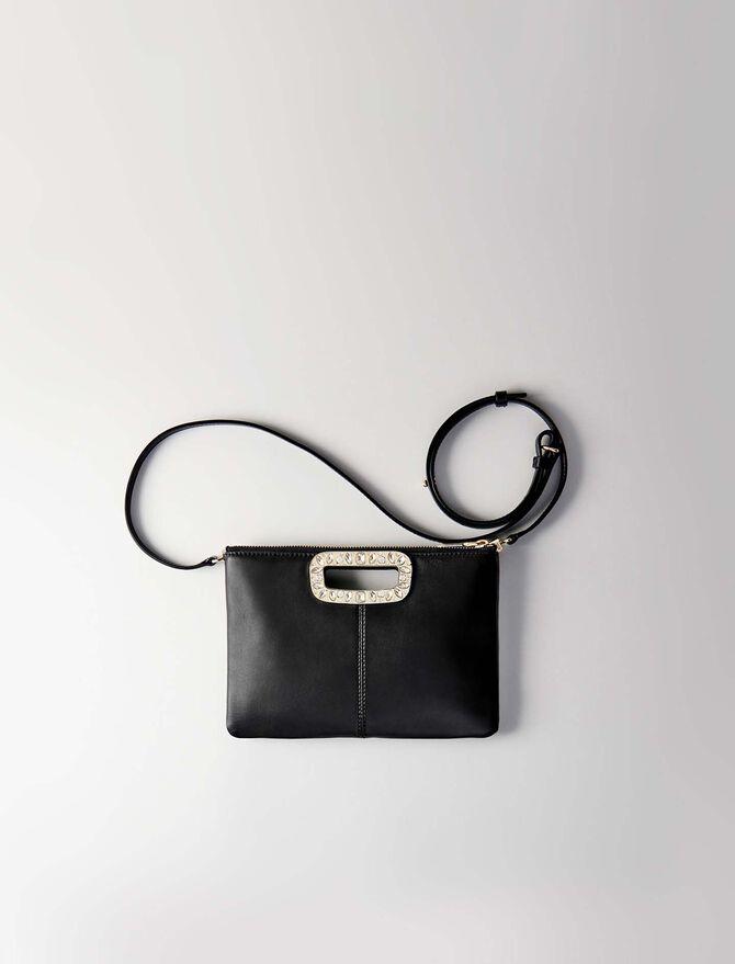 M Duo Tasche aus zwei Materialien -  - MAJE