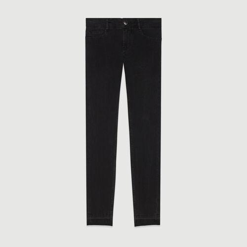 Skinny Jeans aus Stretch : Hosen & Jeans farbe Anthrazit