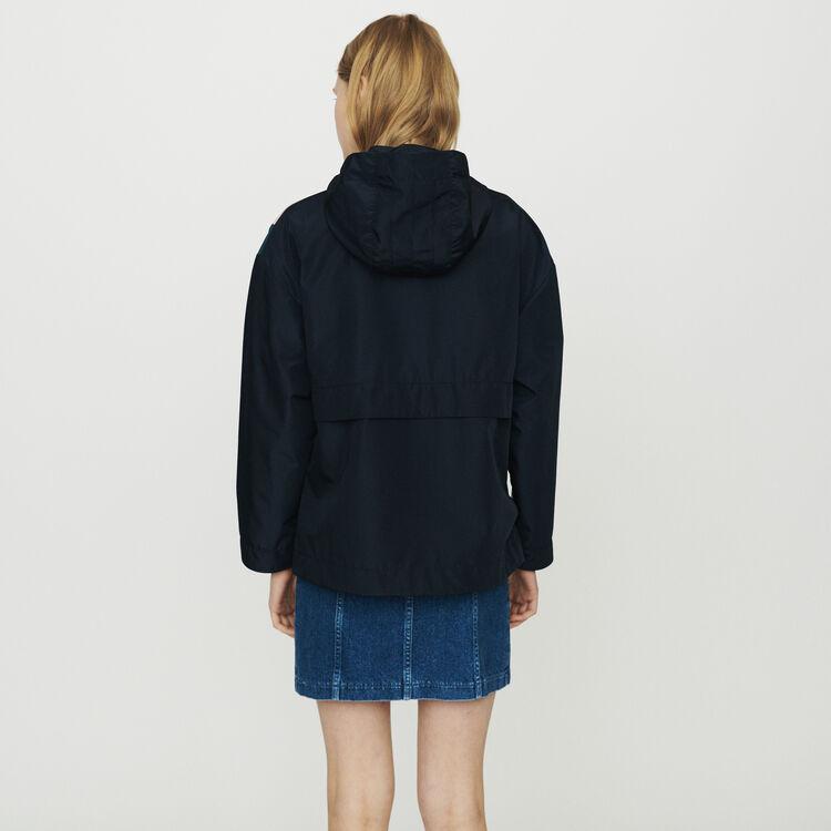 Bunte Windjacke : Mäntel & Jacken farbe Marineblau